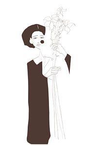 spring portrait van kath.illustrated