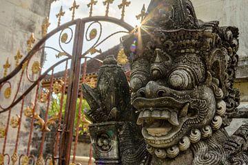 Balinese tempel van Merijn Koster