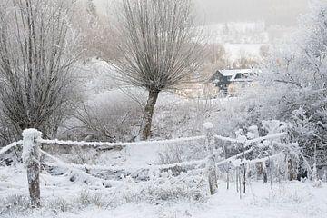 Schneelandschaft von gj heinhuis