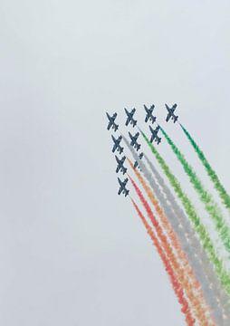 Frecce Tricolori Italia van