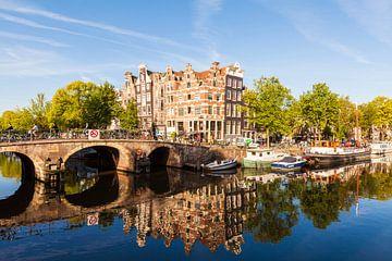 Brouwersgracht dans la vieille ville d'Amsterdam sur Werner Dieterich