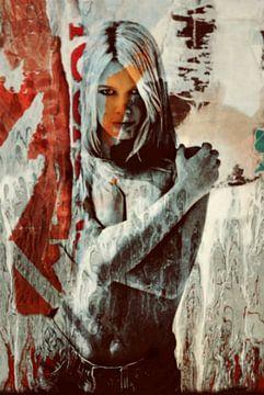 Brigitte Bardot Just Sexy - Modern Art by Epson Digigraphie van Felix von Altersheim
