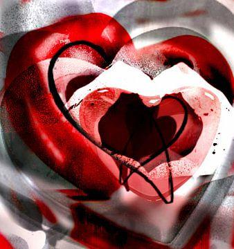 Valentijnshart van Kirsti's Kunst