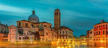 Venise - Grand Canal -Chiesa di San Geremia IV sur Teun Ruijters