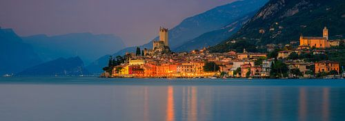 Malcesine, Lake Garda, Italy van