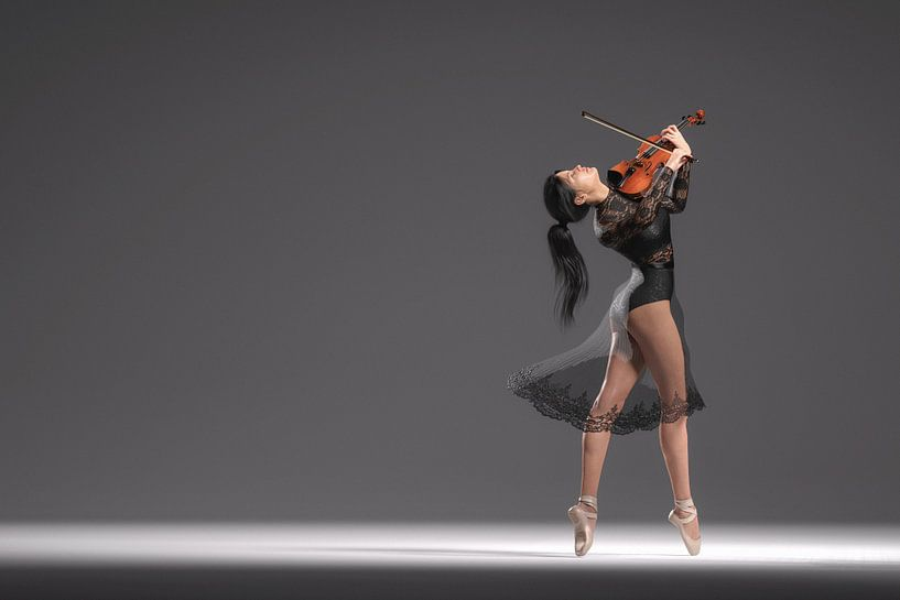 Tanzender Geiger von Arjen Roos