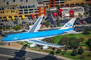 Afscheid van de Queen van de skies. KLM 747-400. van Patrick Vercauteren