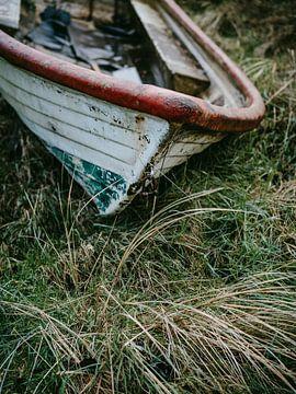Gestrandetes Boot von Steven Goovaerts