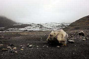 Icelandic glacier sur Louise Poortvliet