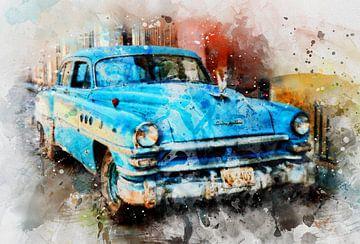 Kuba Oldtimer von Claudia Evans
