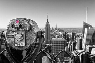 Fernglas auf dem Empire State Building von Tilo Grellmann | Photography