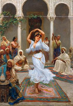 Tanz im Harem, Fabio Fabbi von Atelier Liesjes