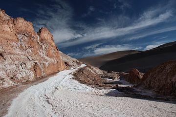 Valle de la Luna bij San Pedro de Atacama van A. Hendriks