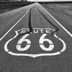 Route 66 in Amboy, Kalifornien von Henk Meijer Photography