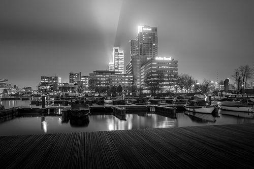 Mistig Amsterdam van