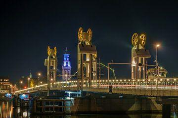Kampen stadsbrug van Han Kedde