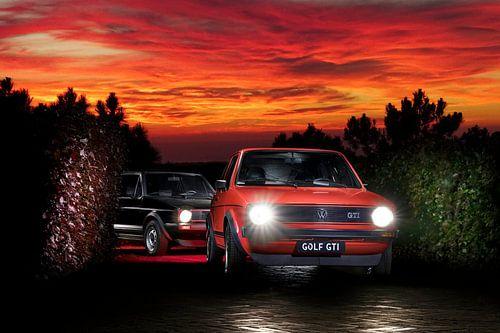 1983 & 1978 Volkswagen Golf GTI van Thomas Boudewijn