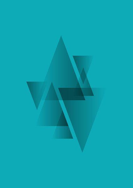 Muster 3 (blau) von Rene Hamann