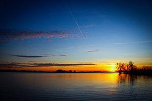 Sonnenaufgang im Brabantse Biesbosch (Brabantse Biesbosch)
