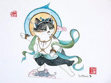 thai-chi Katze