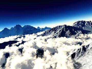 Paysage de montagne sur Alexandra Kleist