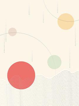 Helle Farbe im japanischen Stil von Rudy en Gisela Schlechter