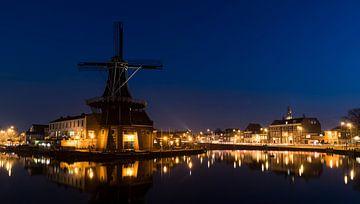 Molen in Haarlem van Daan Kloeg