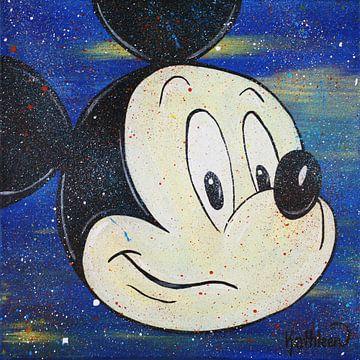 Micky Maus - Pshh von Kathleen Artist Fine Art