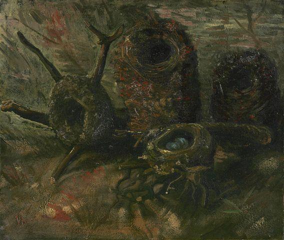Vincent van Gogh, Vogelnesten van 1000 Schilderijen