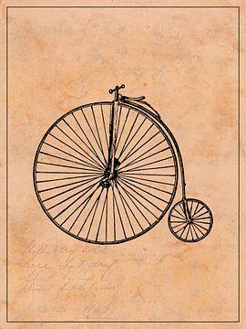 Vintage-Fahrrad von MDRN HOME