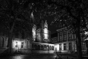 Das Gericht erster Instanz Leiden schwarz auf weiß von Dirk van Egmond