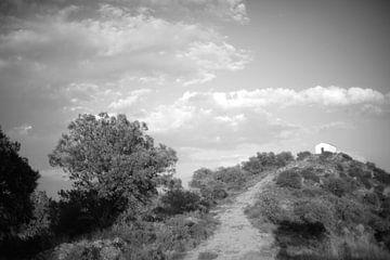 Boven op de berg in Zuid Spanje van Rob van Dam