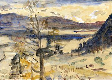 Landschaft Walchensee, LOVIS CORINTH, 1922 von Atelier Liesjes