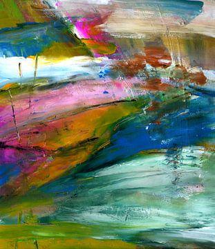 """Abstract """" Life """" van Claudia Gründler"""