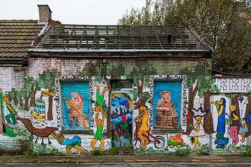 Geisterstadt Doel (Antwerpen): baufälliges Haus von Martijn Mureau