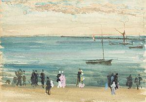 Southend Pier, James Abbott McNeill Whistler.