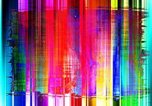 Abstract Liquid eight