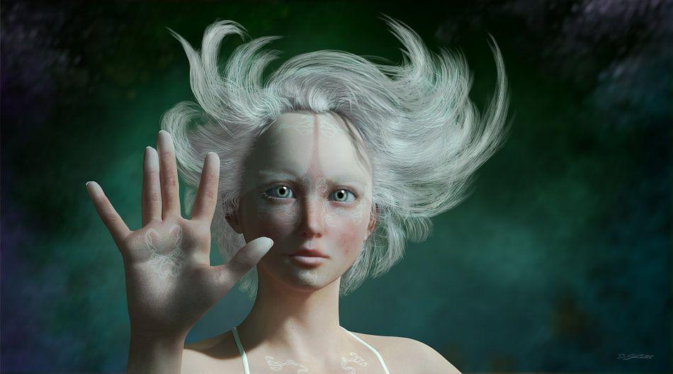 Weißer Faun von Britta Glodde