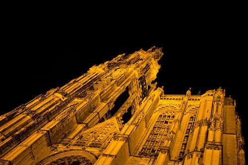 kathedraal Antwerpen van Ramon Bovenlander