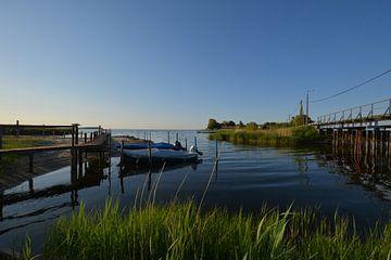 Brug over de Wreecher See - samenvloeiing Rügischer Bodden, van GH Foto & Artdesign