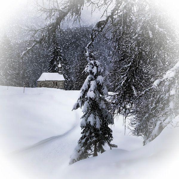 Bavarian Winter's Tale XI van Melanie Viola
