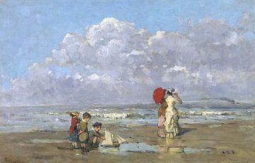 Op het strand, Périclès Pantazis