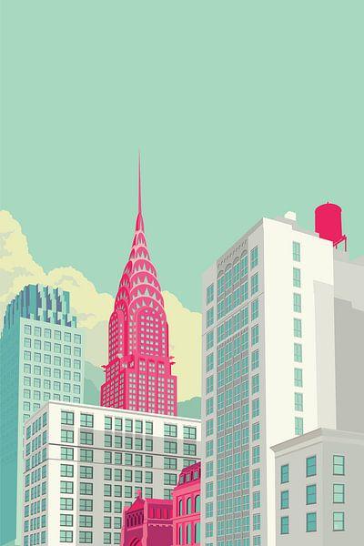 Park Avenue NYC von Remko Heemskerk