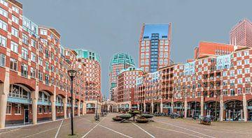 Muzenplein, Den Haag von Mieneke Andeweg-van Rijn