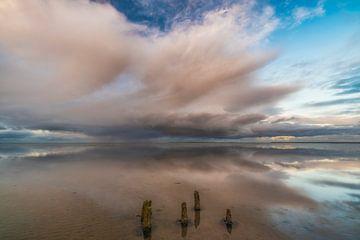 Waddenzee 3 van Peter Bijsterveld