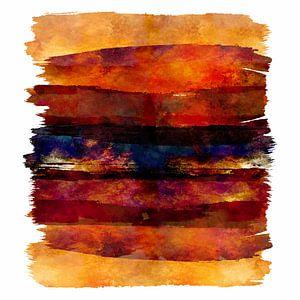 rode zonsondergang 2021 van Andreas Wemmje