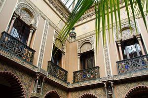Innenhof in Lissabon
