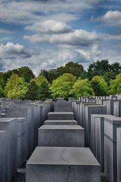 Holocaustmonument Berlijn van Rik van der Klooster