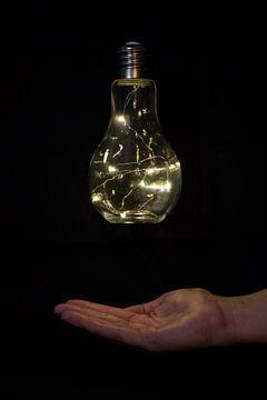 Gloeilamp / lightbulb van Nynke Altenburg