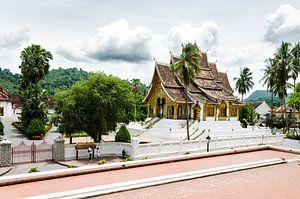 Tempel in Luang Prabang, Laos, Azië van